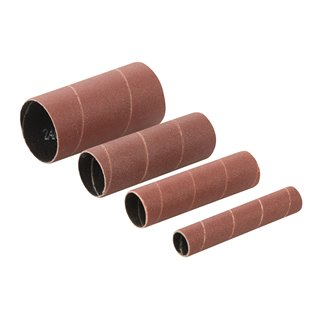 Manchons de ponçage corindon 4 pcs - 4 manchons de ponçage TSPSS240G4PK grains 240