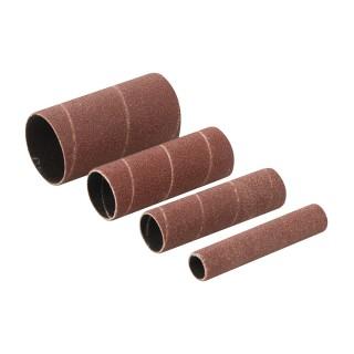 Manchons de ponçage corindon 4 pcs - 4 manchons de ponçage TSPSS80G4PK grains 80
