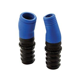 Ports convertisseurs Dust Right® pour tuyaux - 2 pcs