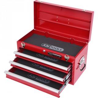 Coffre à outils vide  avec 3 tiroirs ( 911,0100 )