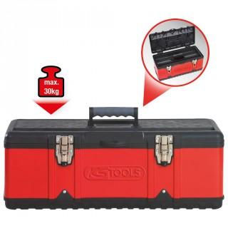 Boîte à outils bimatière 58,2x29,8x25,5cm