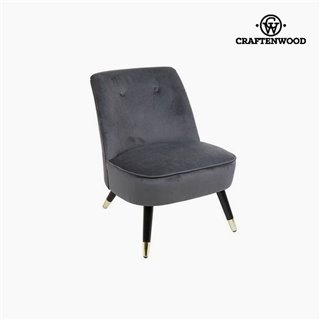 Fauteuil Gris (72 x 70 x 57 cm) by Craftenwood