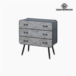 Commode Bois d'épicéa (78 x 73 x 38 cm) by Craftenwood