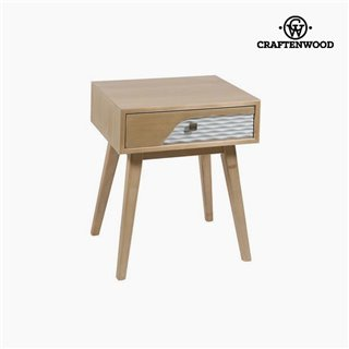 Table de Nuit Mdf (56 x 48 x 40 cm) by Craftenwood