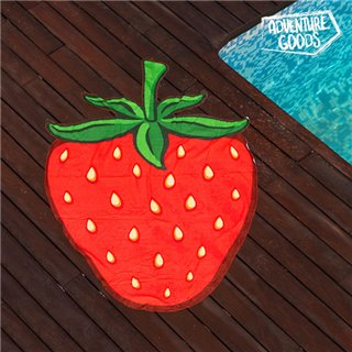 Serviette de Plage Fraise Adventure Goods