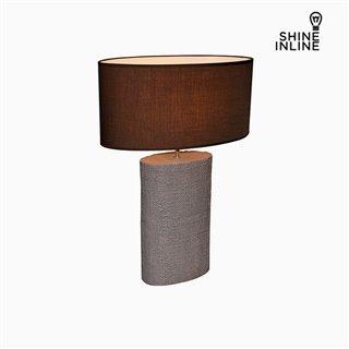 Lampe de bureau Marron (50 x 26 x 71 cm) by Shine Inline