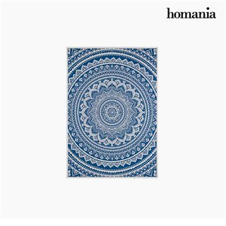 Cadre Mandala Bleu (69 x 4 x 97 cm) by Homania