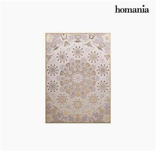 Cadre Mandala Beige (104 x 4 x 144 cm) by Homania