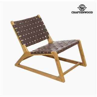 Fauteuil Bois mindi (60 x 80 x 70 cm) by Craftenwood