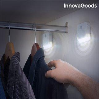 LED avec Capteur de Mouvement InnovaGoods (Pack de 2)