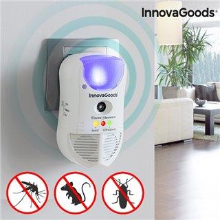 Répulsif de Parasites avec LED et Capteur 5 en 1 InnovaGoods