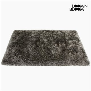 Tapis Polyester Soie Gris (170 x 240 x 8 cm) by Loom In Bloom