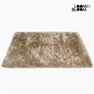 Tapis Polyester Soie Beige (170 x 240 x 8 cm) by Loom In Bloom