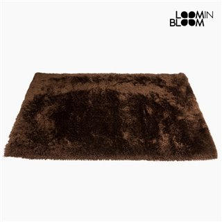 Tapis Polyester Soie Marron (170 x 240 x 8 cm) by Loom In Bloom
