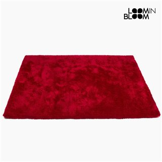 Tapis Polyester Rouge (170 x 240 x 8 cm) by Loom In Bloom