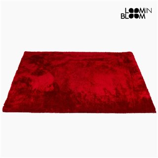 Tapis Polyester Rouge (170 x 240 x 6 cm) by Loom In Bloom