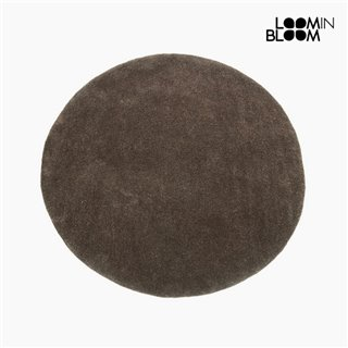 Tapis Acrylique Marron (90 x 90 x 3 cm) by Loom In Bloom