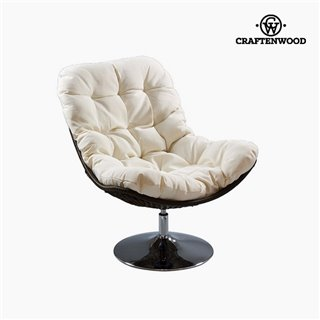 Fauteuil Blanc (86 x 104 x 94 cm) by Craftenwood