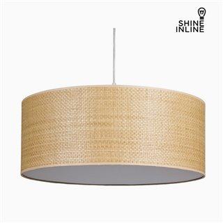 Suspension Raphia Coton et polyester (50 x 50 x 20 cm) by Shine Inline