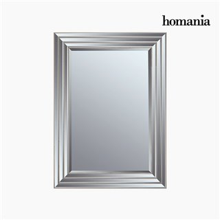 Miroir Résine synthétique Vere biseauté Argenté (82 x 3 x 112 cm) by Homania