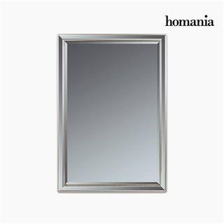 Miroir Résine synthétique Vere biseauté Argent (70 x 4 x 100 cm) by Homania