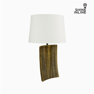 Lampe de bureau Or Céramique (34 x 9 x 61 cm) by Shine Inline