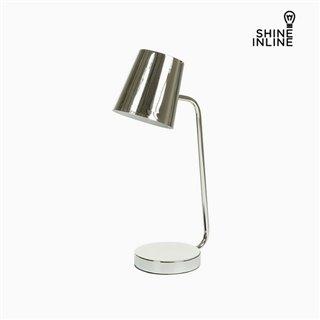 Lampe de bureau Chrome Aluminium (22 x 14 x 46 cm) by Shine Inline