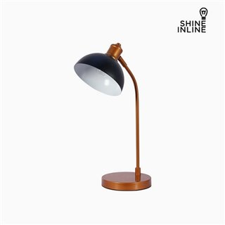 Lampe de bureau Noir Chrome Aluminium (27 x 18 x 51 cm by Shine Inline