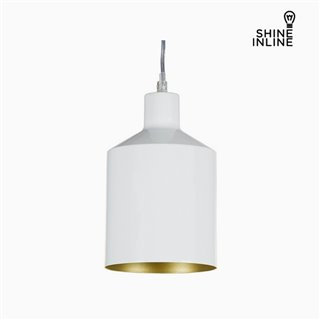 Suspension Blanc Fer (13 x 13 x 23 cm) by Shine Inline