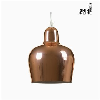 Suspension Cuivre Fer (16 x 16 x 21 cm) by Shine Inline
