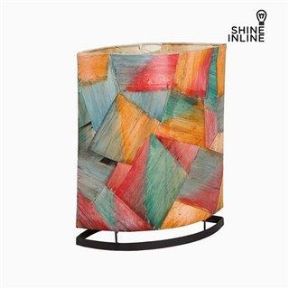 Lampe de bureau Multicouleur Feuille de bananier (14 x 29 x 35 cm) by Shine Inline