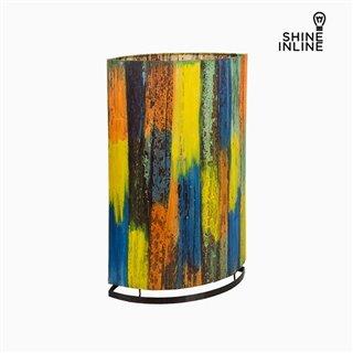 Lampe Multicouleur Feuille de bananier (19 x 34 x 54 cm) by Shine Inline