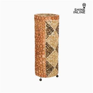 Lampe Bambou (22 x 22 x 55 cm) by Shine Inline