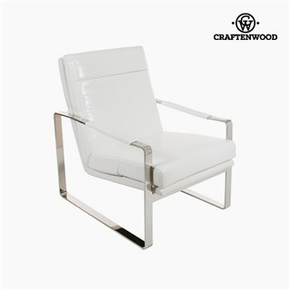 Fauteuil Blanc (70 x 85 x 100 cm) by Craftenwood