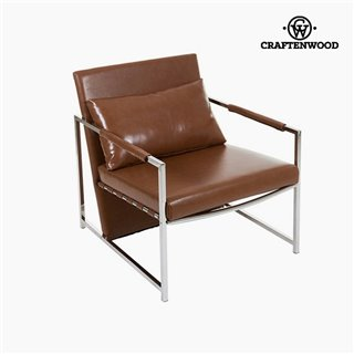 Fauteuil Marron (70 x 80 x 73 cm) by Craftenwood