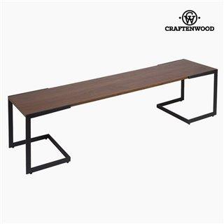 Table de télévision Dm Noyer (160 x 40 x 50 cm) by Craftenwood