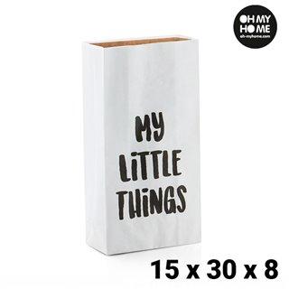 Petit Sac en Papier Oh My Home (15 x 30 x 8 cm)