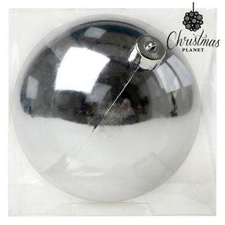 Boule de Noël Christmas Planet 7681 15 cm Argenté