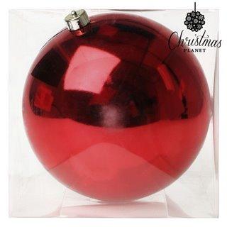 Boule de Noël Christmas Planet 7407 20 cm Rouge