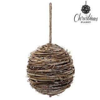 Boules de Noël Christmas Planet 4502 14 cm Bois Marron