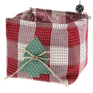Panier Christmas Planet 8844 Rouge