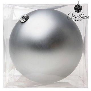 Boule de Noël Christmas Planet 8835 15 cm Verre Argenté