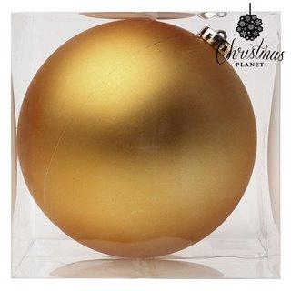 Boule de Noël Christmas Planet 8859 15 cm Verre Doré
