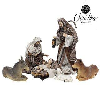 Crèche de Noël Christmas Planet 6777 33 cm (6 pcs)