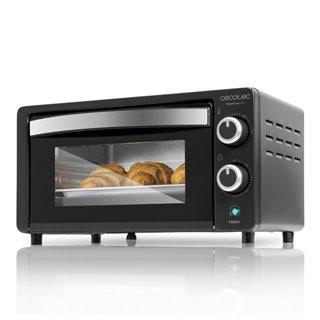 Mini Four Électrique Cecotec Bake'n Toast 1000W-Couleur-Blanc
