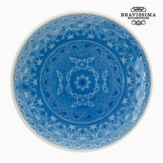 Assiette Porcelaine Bleu by Bravissima Kitchen