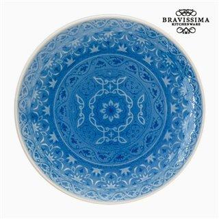 Assiette Porcelaine Bleu by Bravissima Kitchen