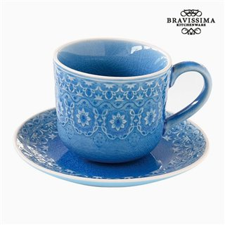 Tasse à infusion Porcelaine Bleu by Bravissima Kitchen