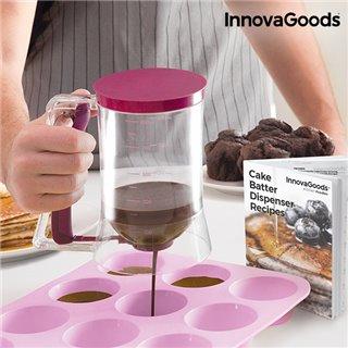 Carafe Distributrice de Pâte à Pâtisserie avec Livre de Recettes InnovaGoods