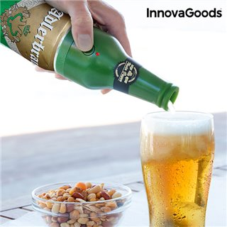 Mousseur à Bière Ultrasonique pour Canettes InnovaGoods